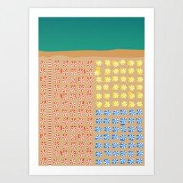 Positano, Amalfi Coast, Italy Art Print