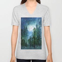 Silent Forest Unisex V-Neck