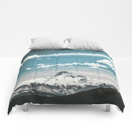 Mountain Morning - Nature Photography Comforters