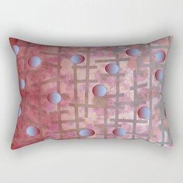 Polka dot et Line Rectangular Pillow