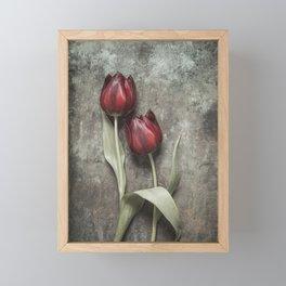 Red Tulips II Framed Mini Art Print