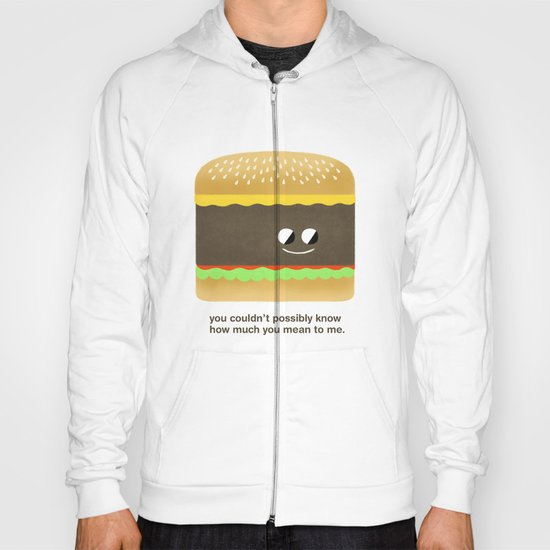 Cheesy Burger Hoody