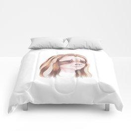 Raccoon Girl Comforters