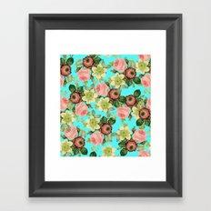 Hawaiian Flora #society6 #decor #buyart Framed Art Print