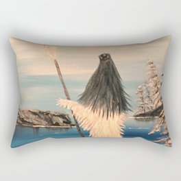 Atlantean Priestess Rectangular Pillow