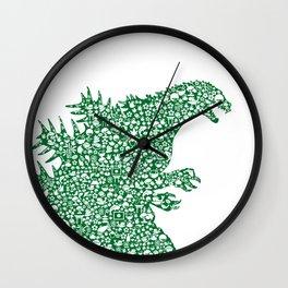 Japanese Monster Wall Clock