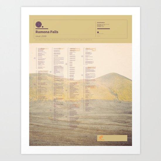 The Visual Mixtape 2010 | Intuit | 08 / 25 Art Print