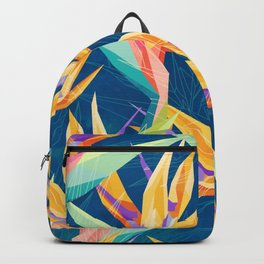 Strelitzia Pattern Backpack