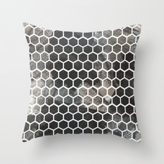 Graphic_Cells Paint Throw Pillow