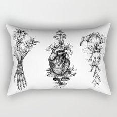 In Bloom - herbarium Rectangular Pillow