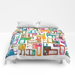 Tetris Monsters Comforters