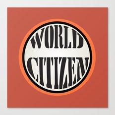 World Citizen Canvas Print