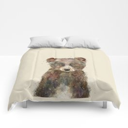 little brown bear Comforters