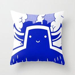 DESTROY TOO Throw Pillow