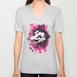Love Opossum Unisex V-Neck