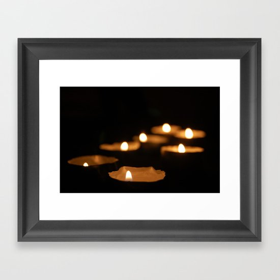 Candelas Framed Art Print