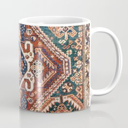 Qashqai Khorjin  Antique Fars Persian Bag Face Coffee Mug