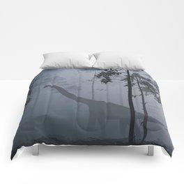 Dinosaur by Moonlight Comforters