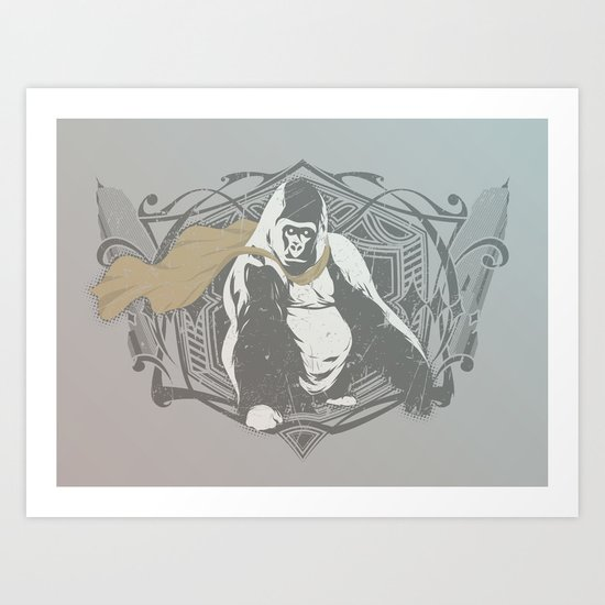 Fearless Creature: Grillz Art Print