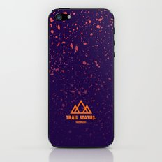 Trail Status / Purple iPhone & iPod Skin