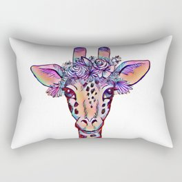 Long May She Reign (purple) Rectangular Pillow