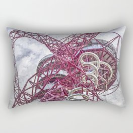 The Arcelormittal Orbit Art Rectangular Pillow