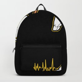 Cockatoo Heartbeat For A Parrot Lover product Backpack