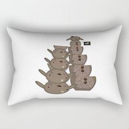 Chocolate Bunny - Matrioska Rectangular Pillow