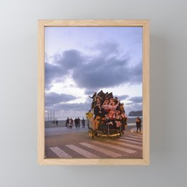 Nazare Festival Framed Mini Art Print