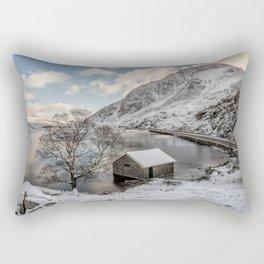 A Cold Start Rectangular Pillow