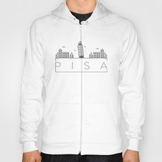 Linear Pisa Skyline Design Hoody