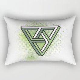 Impossible Triad Rectangular Pillow