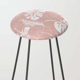 Tropical pattern 020 Counter Stool