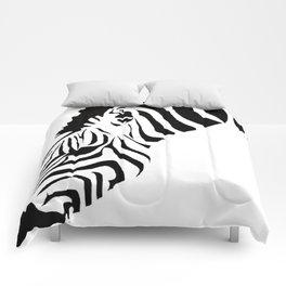 Grazing Zebra Comforters