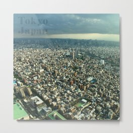 View of Tokyo from Skytree Metal Print