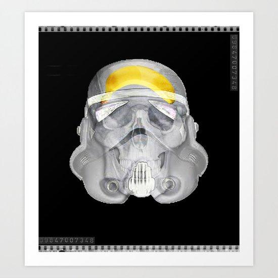 stormtrooper x-ray Art Print