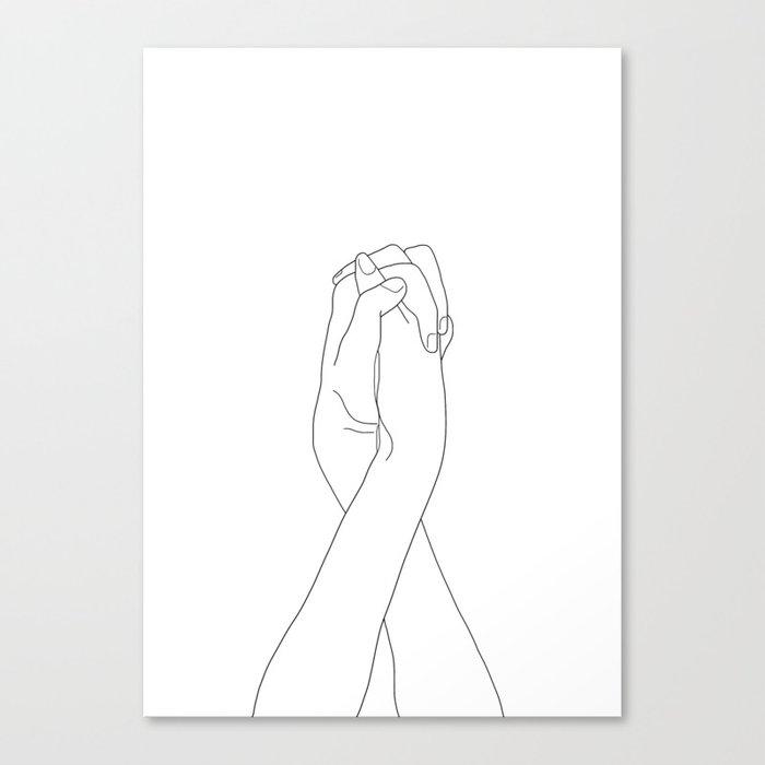 Never Let Me Go II Canvas Print