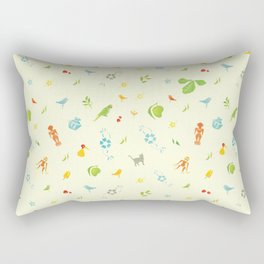 Vintage Everyday Rectangular Pillow