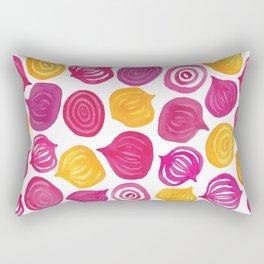 Spring Beet pattern Rectangular Pillow