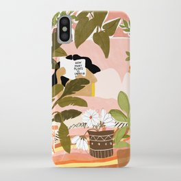 How Many Plants Is Enough Plants? iPhone Case
