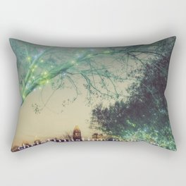 Christmastime In The City Rectangular Pillow