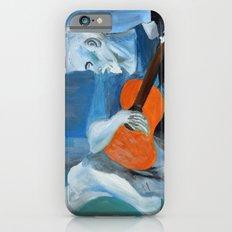 Picasso's Blue Man  iPhone 6s Slim Case