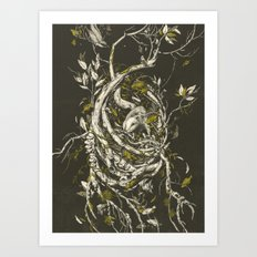The Mangrove Tree Art Print