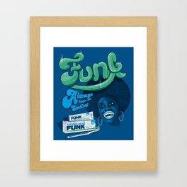 FUNK - ALWAYS KEEPS ME SMILING Framed Art Print