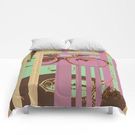 Bar growth Comforters