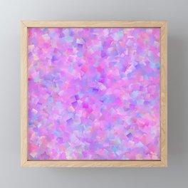 Funfetti (Preppy Abstract Pattern) Framed Mini Art Print