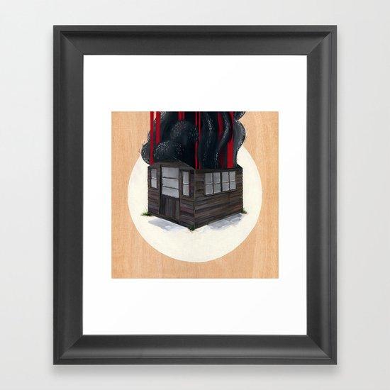 Sheds & Shacks   No:1 Framed Art Print
