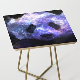 Galaxy Panda Space Colorful Side Table