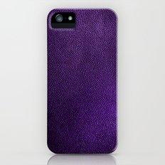 leather*Trompe l'oeil iPhone (5, 5s) Slim Case