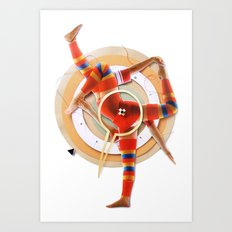 Pivot | Collage Art Print